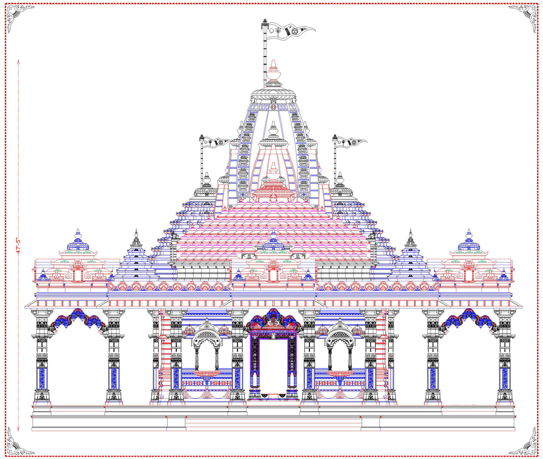 Kamiyala Hanumanji New Temple Design - Architecture